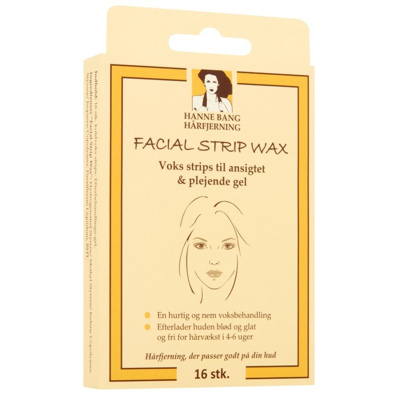 Hanne Bang Hair Removal Facial Strip Wax 16 Pieces thumbnail