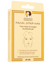 Hanne Bang Hair Removal Facial Strip Wax 16 Pieces