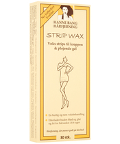 Hanne Bang Hair Removal Wax Strips 30 Pieces
