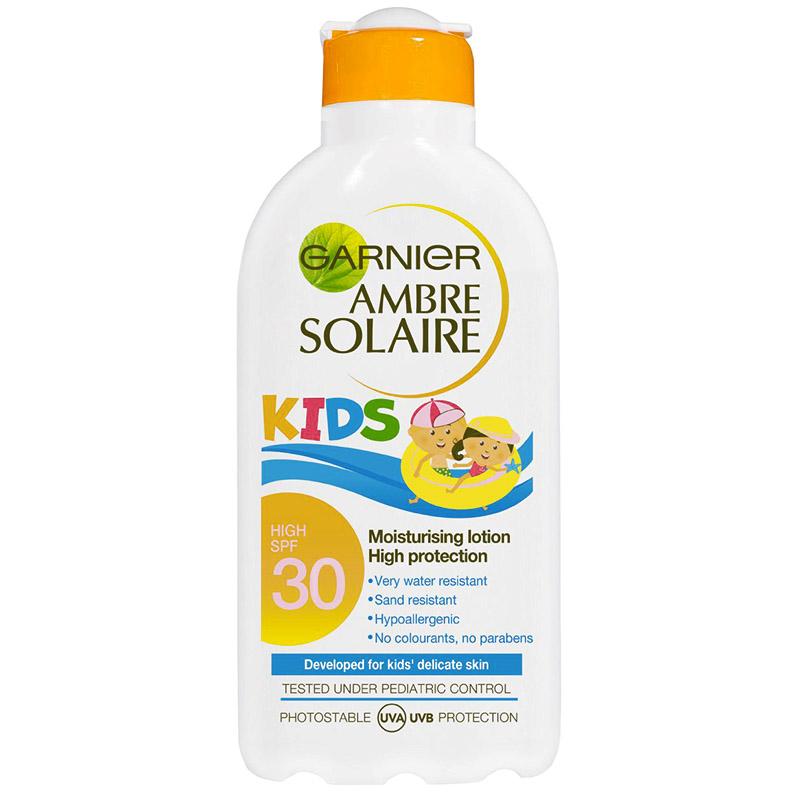 N/A Garnier ambre solaire kids spf 50 200 ml på nicehair.dk