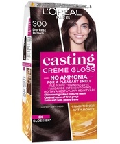 L'Oréal Paris Casting Créme Gloss 300 Darkest Brown