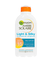 Garnier Ambre Solaire Light & Silky Spf 15 200 ml