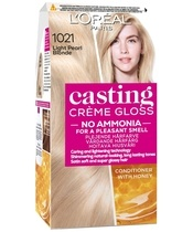 L'Oréal Paris Casting Créme Gloss 1021 Light Pearl Blonde