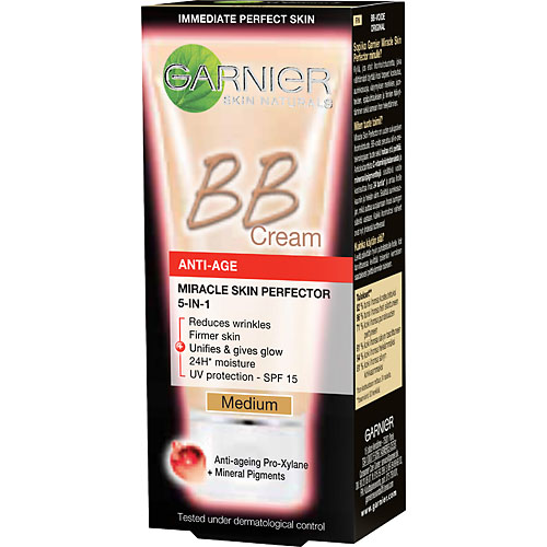 N/A Garnier skinactive face miracle skin bb cream anti-age light 50 ml fra nicehair.dk