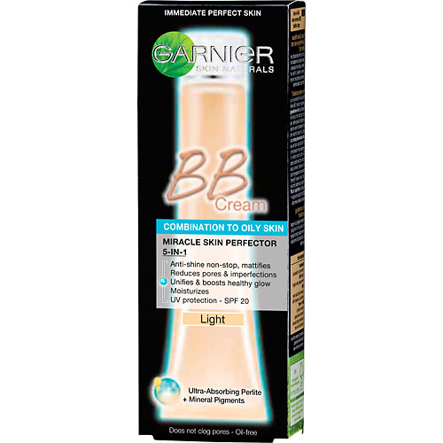 Garnier skinactive face miracle skin bb cream anti-age medium 50 ml fra N/A på nicehair.dk