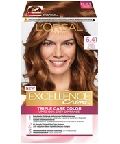 L'Oréal Paris Excellence 6.41 Mørkeblond Kobber Ask