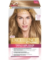 L'Oréal Paris Excellence 7.31 Blond Gylden Beige