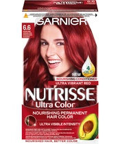 Garnier Nutrisse Ultra Color 6.6 Intens Rød