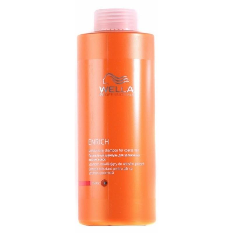 Wella Enrich Moisturising Shampoo Kraftig 1000 Ml U Pumpe