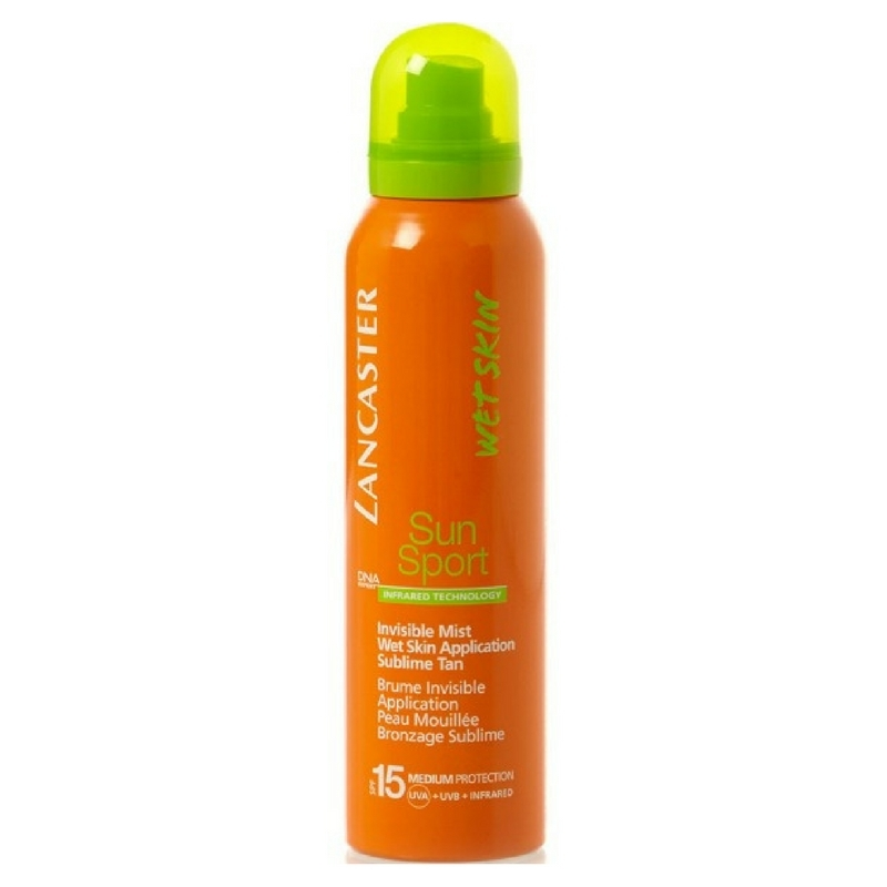 Lancaster Sun Sport Invisible Mist Wet Skin Factor(spf) 15 125ml
