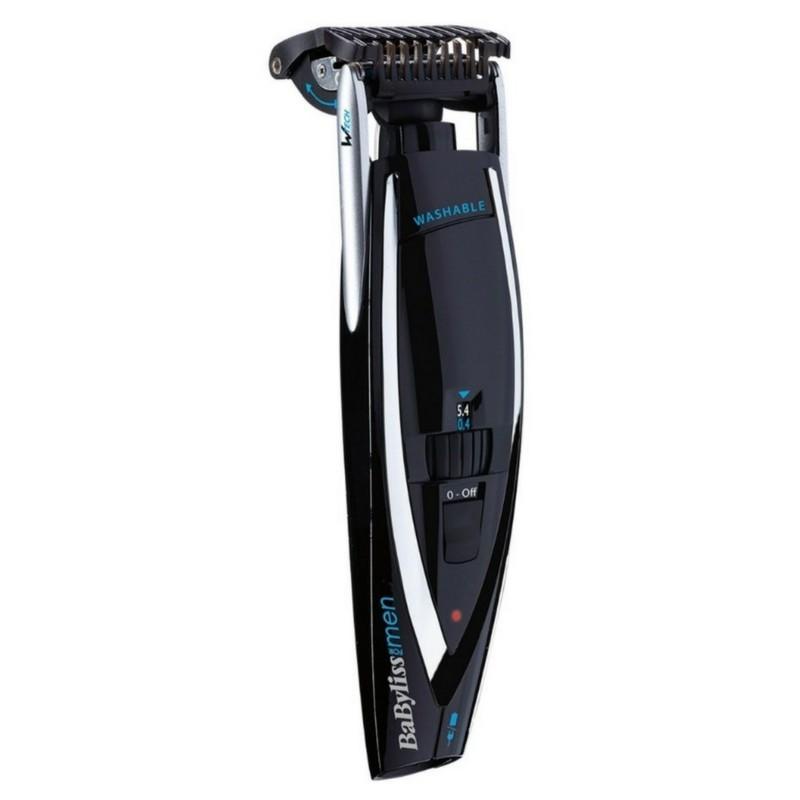 Babyliss For Men Beard Trimmer 3D-Control & Shave (E868E)