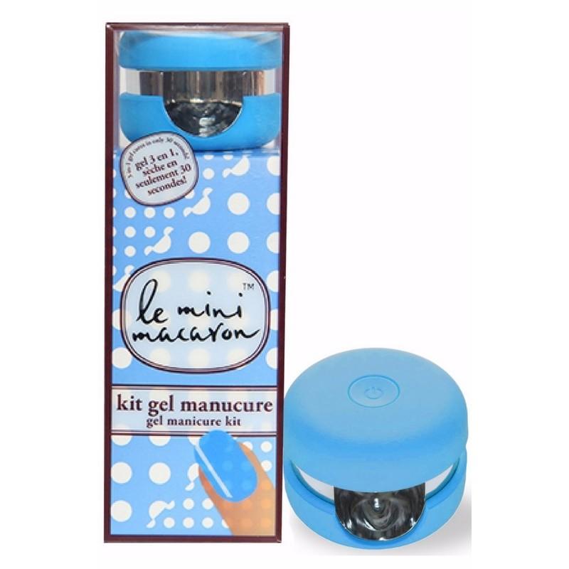 Le mini macaron Le mini macaron gel manicure kit - cassis fra nicehair.dk