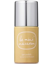 Le Mini Macaron Gel Polish 10 ml - Gold Glitter (U)