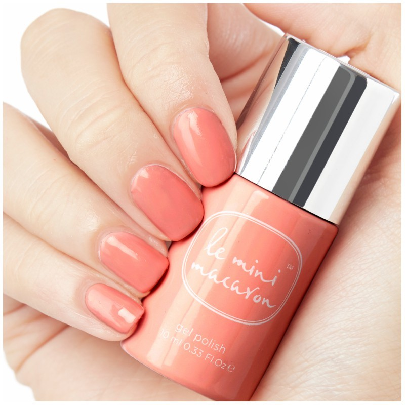 Le Mini Macaron Gel Polish - Peach 10 ml