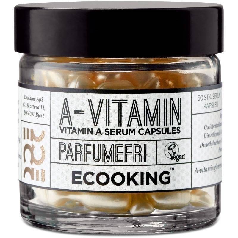 Ecooking Vitamin A Serum Capsules 60 Stk