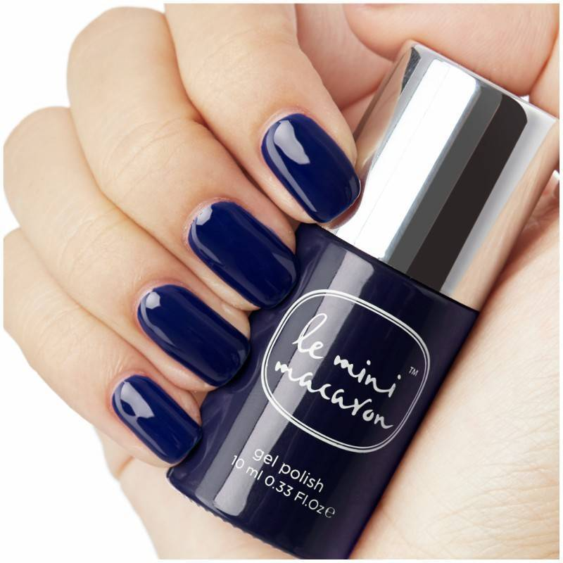 Le Mini Macaron Gel Polish - Blueberry At Midnight 10 ml