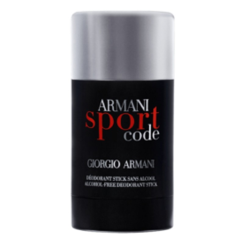 giorgio armani code sport deo stick pour homme 75 g u. Black Bedroom Furniture Sets. Home Design Ideas