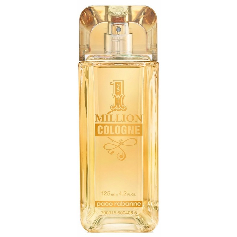 Paco rabanne 1 million cologne edt 125 ml for Paco rabanne cologne
