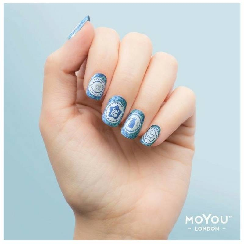 Moyou stamping plate alice 01 - Diva nails and beauty ...