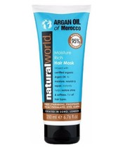 Natural World Moroccan Argan oil Hair Mask 200 ml