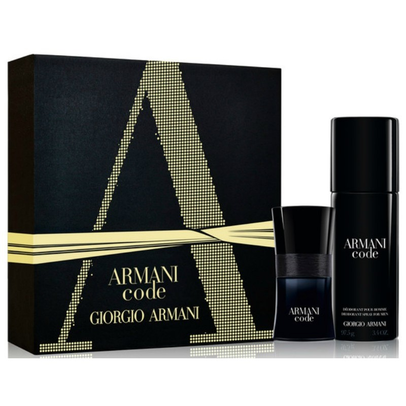 giorgio armani code pour homme gift set limited edition. Black Bedroom Furniture Sets. Home Design Ideas