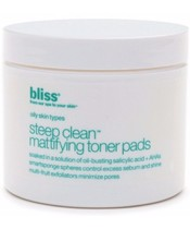 Bliss Steep Clean Mattifying Toner Pads 50 stk