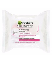 Garnier Skinactive Cleansing Wipes Soft Comfort 25 Wipes