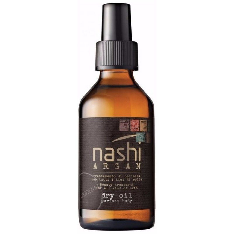Nashi style shine thermo protector hydrating and defence spray 250 ml fra Nashi argan fra nicehair.dk