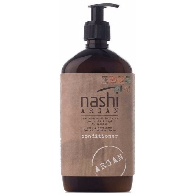 Nashi Argan Conditioner - Beauty Treatment For All Kind Of Hair 500 ml Inkl Pump