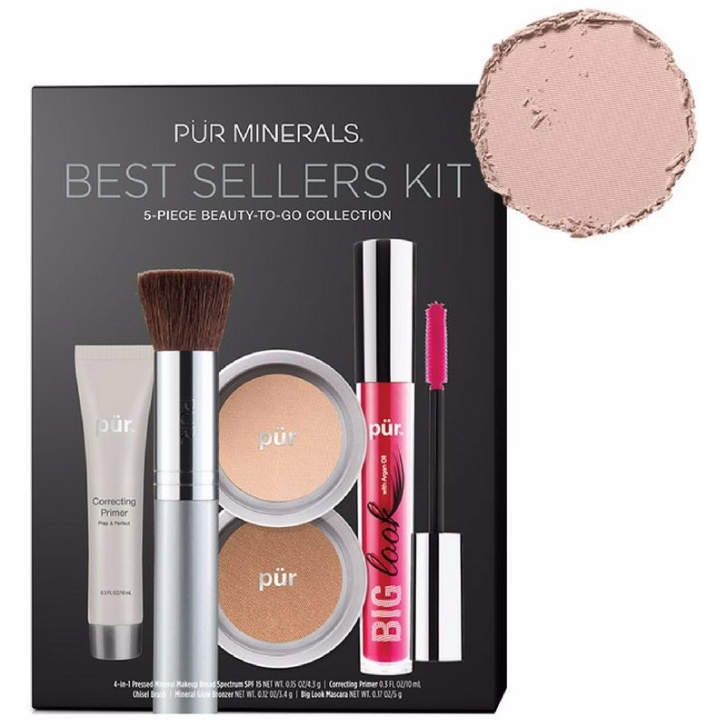 Pur cosmetics Pur minerals best sellers kit - light fra nicehair.dk