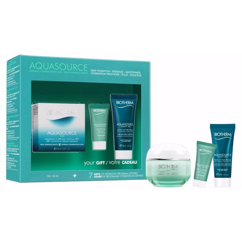 Biotherm Aquasource NormalCombination Skin Gift Set Limited Edition