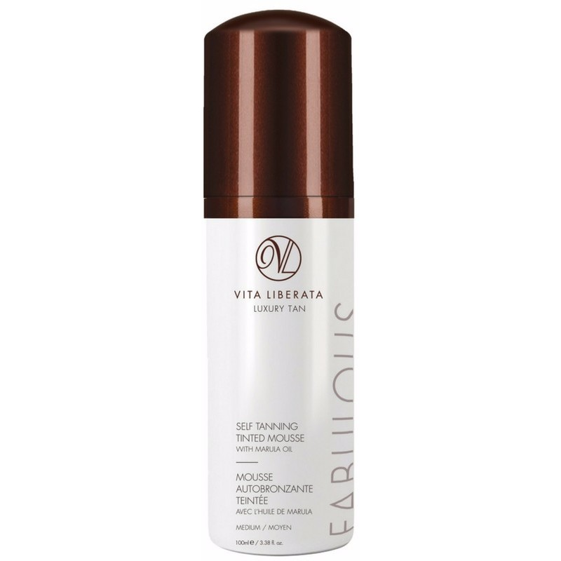 Vita Liberata Self Tanning Tinted Mousse 100 ml - Medium thumbnail