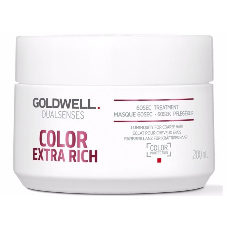 goldwell dualsenses color extra rich 60 sec treatment 200. Black Bedroom Furniture Sets. Home Design Ideas