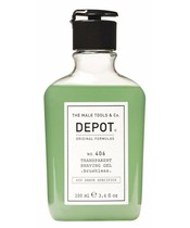 Depot No. 406 Transparent Shaving Gel 100 ml