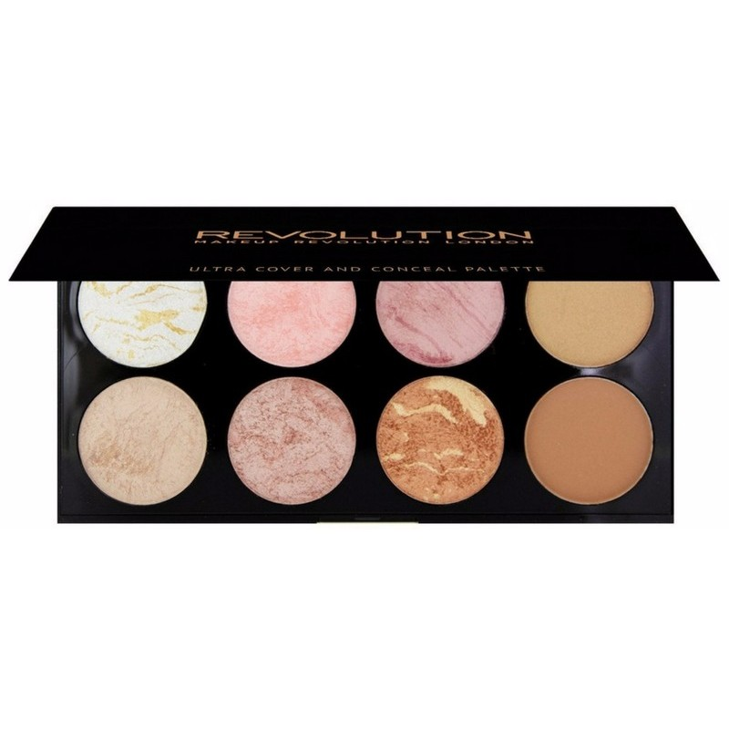 Makeup Revolution Ultra Blush Palette Golden Sugar 13 gr.