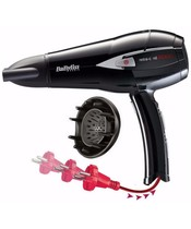 Babyliss Retra-Cord 2000 Hair Dryer W. Cord Winder (D372E)