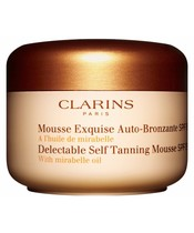 Clarins Self Tanning Mousse SPF 15 - 125 ml