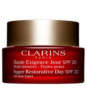Clarins Super Restorative Day All Skin Types SPF 20 - 50 ml