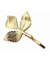 Everneed Hairpin W. 3 Leaves Gold (1183/0582)