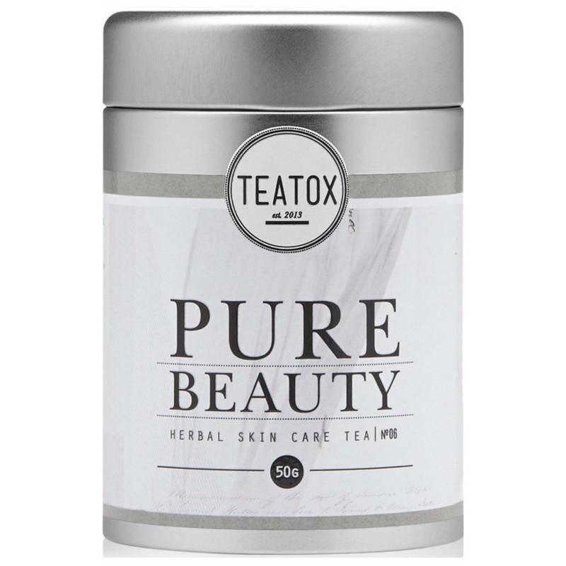 Teatox Teatox power detox organic fitness tea 50 gr fra nicehair.dk