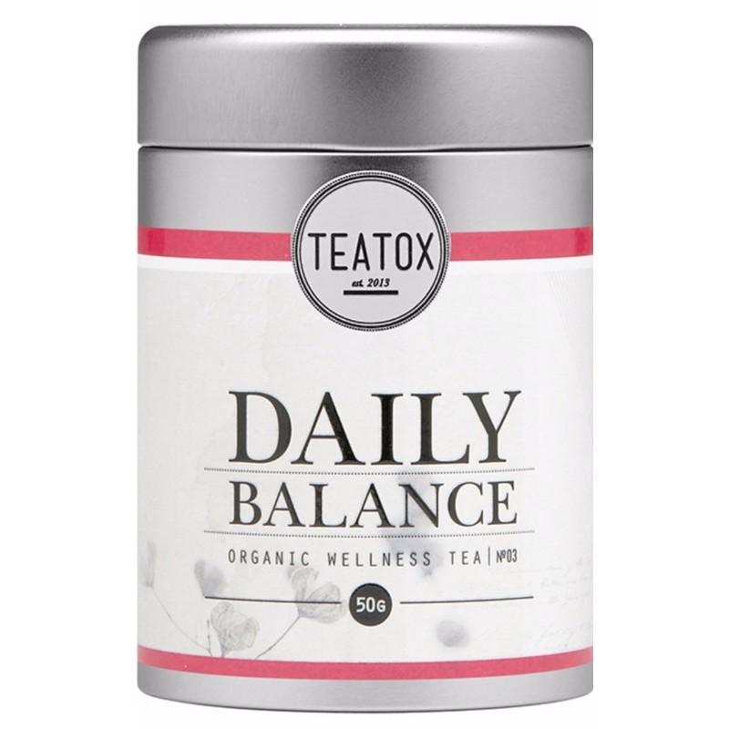 Teatox Teatox fresh focus organic green tea 70 gr fra nicehair.dk