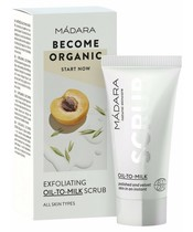 MADARA Exfoliating Oil-To-Milk Scrub 12,5 ml