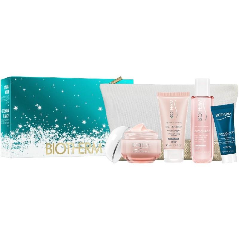 Biotherm Aquasource Cream Gift Set Dry Skin