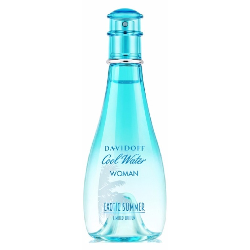 davidoff cool water woman exotic summer edt 100 ml. Black Bedroom Furniture Sets. Home Design Ideas