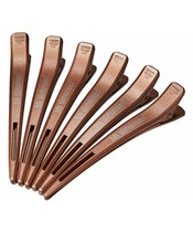 6 stk. HH SIMONSEN® Frisør HairClips Rose Gold