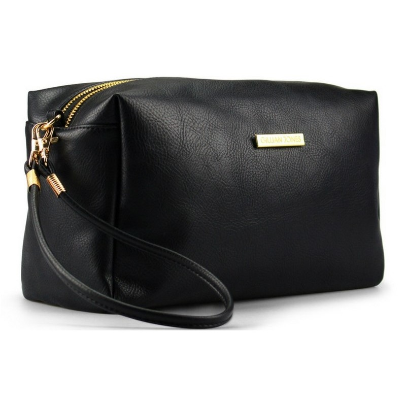 Gillian jones black makeup purse 7129-00 fra Gillian jones fra nicehair.dk
