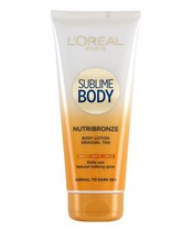 L'Oréal Paris Body Sublime Body Nutribronze Body Lotion 200 ml