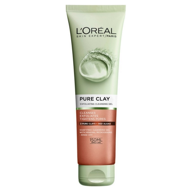 Has Loreal pure zone facial cleanser