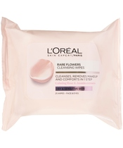 L'Oréal Paris Skin Cleansing Rare Flower Cleansing Wipes Dry & Sensitive Skin 25 wipes