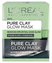 L'Oréal Paris Skin Cleansing Pure Clay Glow Mask 50 ml